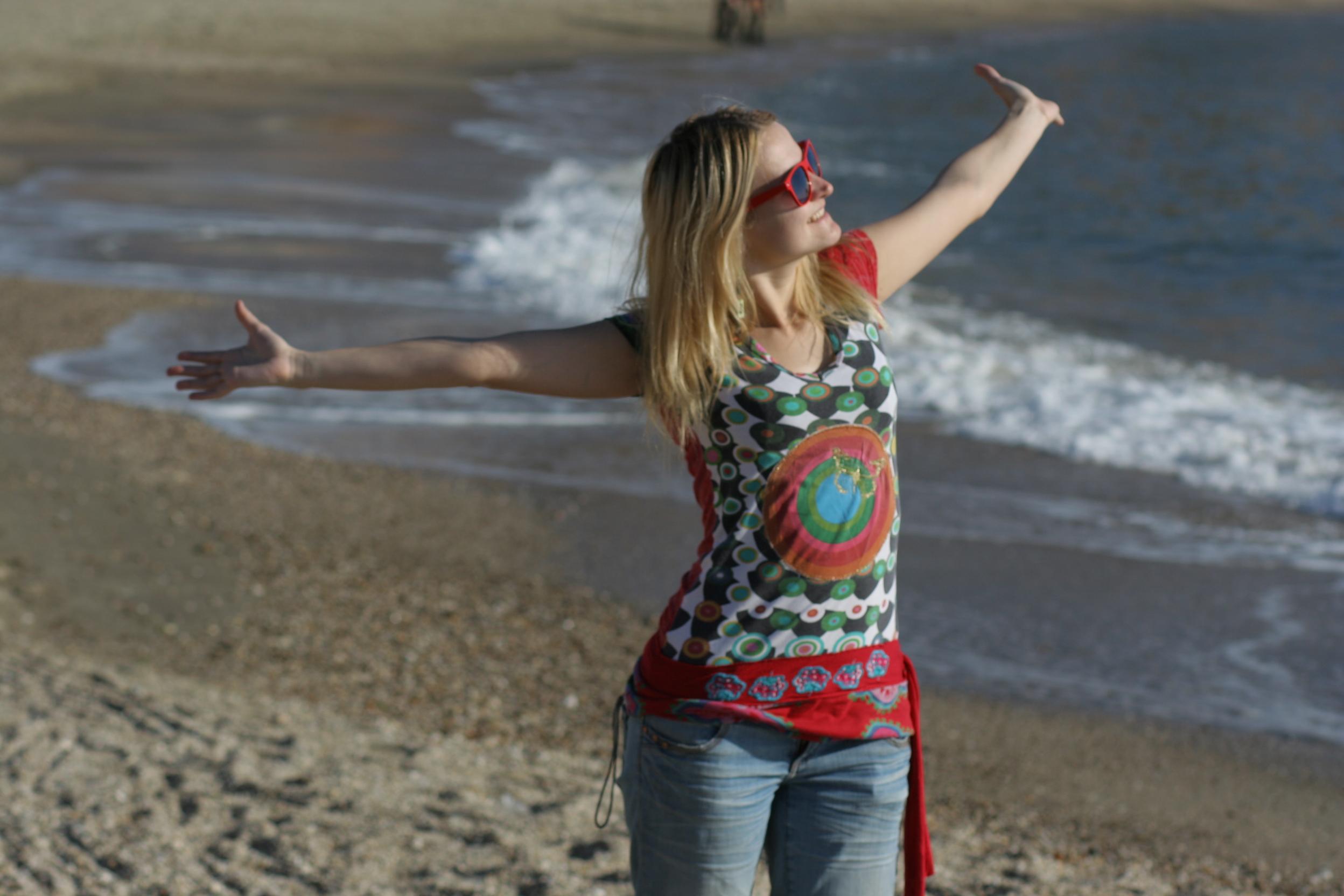 Vykročení z komfortní zóny, aneb moje cesta na pláž…